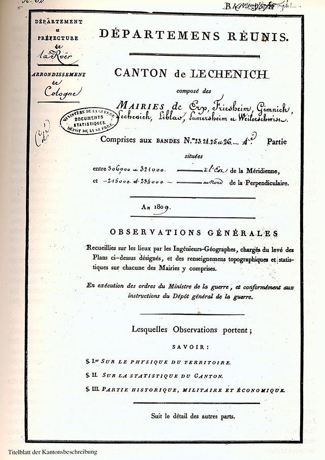 Kanton Lechenich - Wikiwand