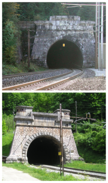 Karawanks Railway Tunnel Collage.png