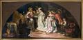 Kardinalen välsignar ett ungt par. Måleri. Historiebild - Skoklosters slott - 85996.tif
