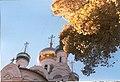 Karlovy Vary - Sadová - View ESE on Russian Orthodox Church of the Tsar I.jpg