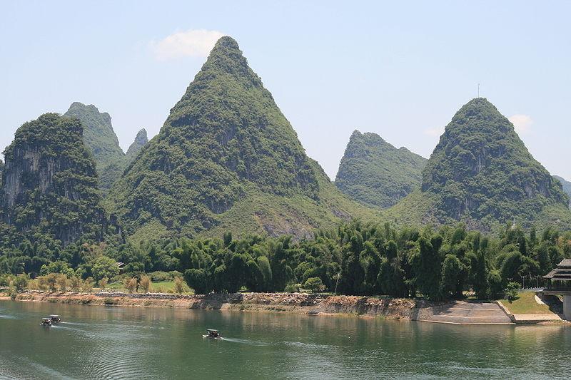 File:Karst peaks and bamboo forest.jpg