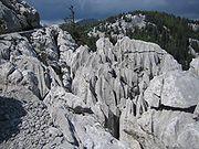 Karstformationen Nationalpark-Nord-Velebit