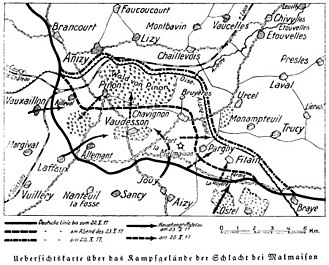 Battle of La Malmaison - La Malmaison and the Laffaux Salient, October 1917