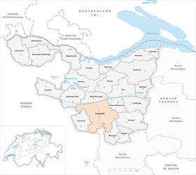 Karte Gemeinde Frauenfeld 2011