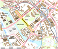 Karte der Spandauer Straße in Berlin.png