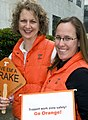 Katie and Amy go orange (4505725720).jpg