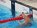 Kazan 2015 - Eygló Ósk Gústafsdóttir final 200m backstroke.JPG