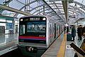 Keisei 3018 Nippori Station 2015-12-16.jpg