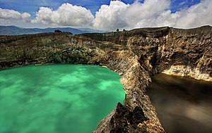 Kelimutu National Park - Kelimutu lakes Tiwu Nuwa Muri Koo Fai and Tiwu Ata Polo