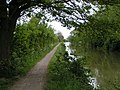Kennet and Avon canal and cycle path near Semington - geograph.org.uk - 1312765.jpg