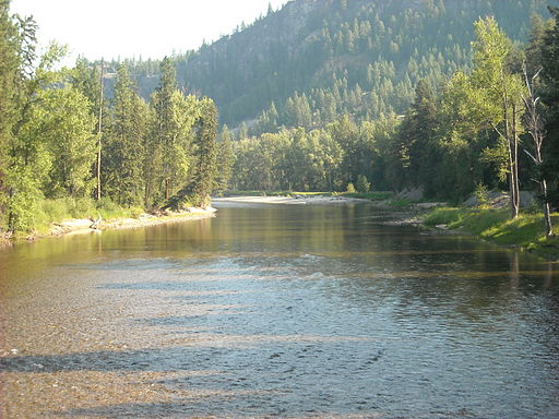 Kettle River from Railway Trestle