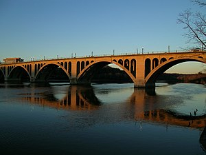 Key Bridge (Washington, D.C.) - Image: Key Bridge, Washington D.C
