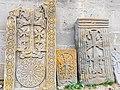 Khachkars near Makravank Monastery (21).jpg