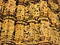 Khajuraho JagdambiTempel 4813.jpg