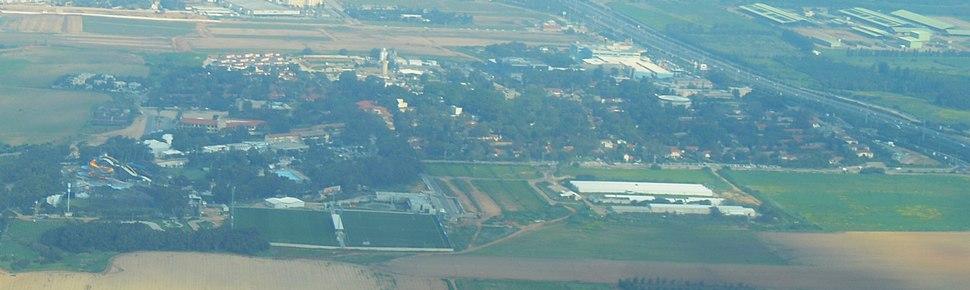 Kibbutz Shefayim Aerial View