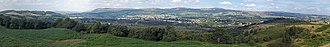 Croy Hill - Kilsyth from Croy Hill