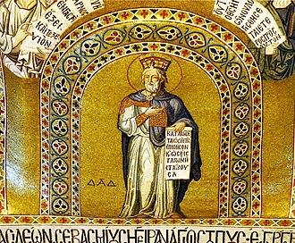 Cappella Palatina - mosaic in the Palatine Chapel