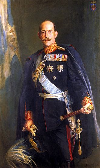 Constantine I of Greece - A portrait of Constantine I by Philip de László, 1914, after the victorious Balkan wars