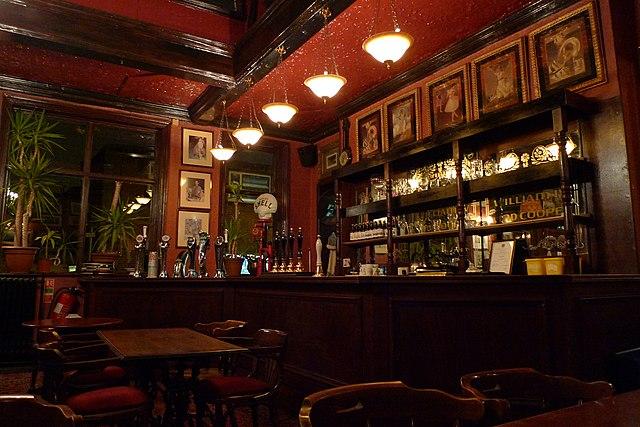 Elegancki bar