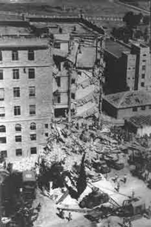 Zionist political violence - Aftermath of the King David Hotel bombing, 1946