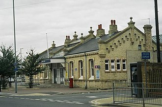 King's Lynn railway station - The station building from the outside