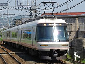 Kintetsu 26000 series - Set 26101 at Taimadera Station in 2016