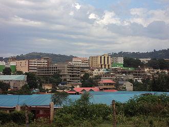 Kisii, Kenya - Kisii town as seen from Getembe