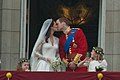 Kiss Wedding Prince William of Wales Kate Middleton.jpg