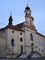 Klášter alžbětinek - Kostel Panny Marie (Nové Město), Praha 2, Na Slupi 31, Nové Město.JPG