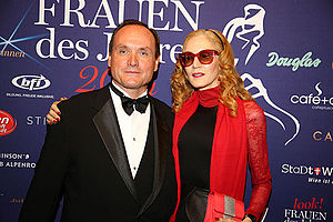 Kiehl's - Co-presidents Klaus Heidegger and Jami Morse Heidegger in 2014.