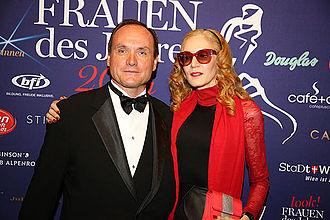 Kiehl's - Co-presidents Klaus Heidegger and Jami Morse Heidegger in 2014.