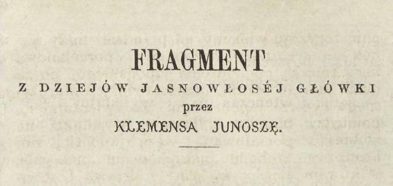 File:Klemens Junosza - Fragment z dziejów jasnowłosej główki.djvu