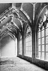 kloostergang noord galerij, opgebouwd in 1896 - middelburg - 20154372 - rce