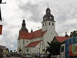 Kościół w Wielu przy ulicy Derdowskiego.JPG