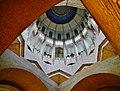 Koekelberg Basilique Nationale Sacré-Coeur Innen Kuppel 3.jpg