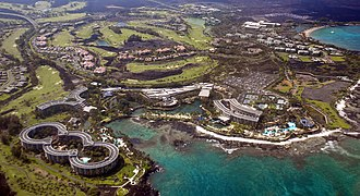 Kohala, Hawaii - Hilton Waikoloa in the South Kohala district