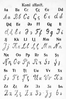 The Letters Of The Alphabet In Cursive