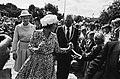 Koninginnen, herdenkingen, bezoeken, Beatrix, koningin, Bestanddeelnr 930-9769.jpg