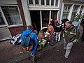Koningsdag in Amsterdam, Tweede Rozendwarsstraat foto 2.JPG
