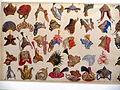 Kopfbedeckungen zu Bühnenkostümen für Damen Ende des 17. Jahrhunderts.jpg