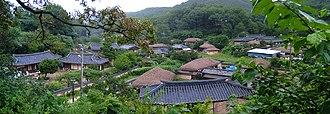 Yangdong Folk Village - Yangdong Village