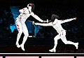 Korea London WomenTeam Fencing 02 (7730602564).jpg