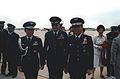 Korean Air Force GEN Eung Yul Yoon, right, is welcomed upon his arrival in the United States for a visit.jpeg