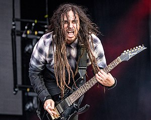 James Shaffer - Munky performing at Rock im Park 2016