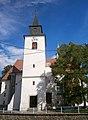 Kostel sv. Bartoloměje (Brno), Žebětín, Brno.JPG