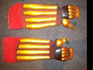 Gauntlet (glove) - Japanese (samurai) Edo period gauntlets (han kote).