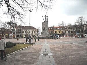 Center of Kraljevo