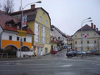 Kranj - Image: Kranj Savska cesta