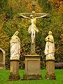 Kreuzweg Kruzifix mit Assistenzfiguren (Leibleinmühle).JPG