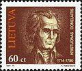 Kristijonas Donelaitis 1994 Lithuanian stamp.jpg